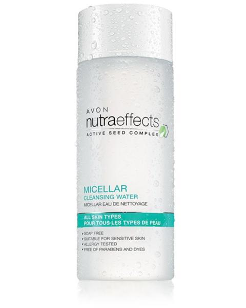 """мицелярная вода """"Очищение"""" серии Nutraeffects"""