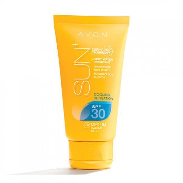 солнцезащитный увлажняющий крем -гель для лица SPF 30, 50 мл
