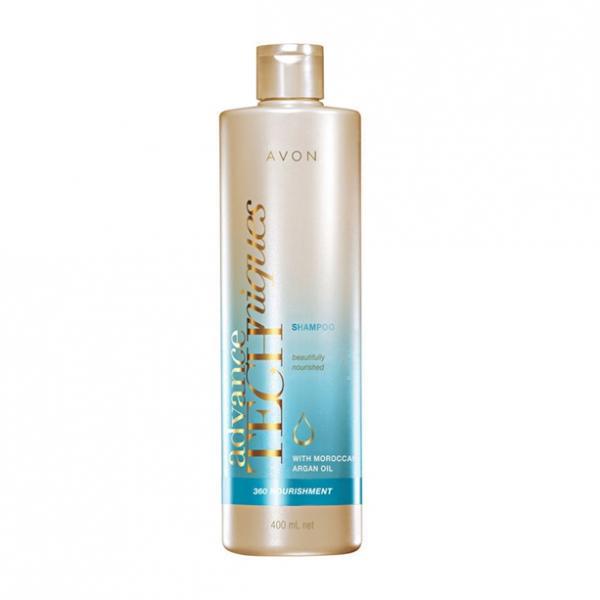 Фото для волос, advance techniques Питательный шампунь «Комплексный уход» (400 мл)