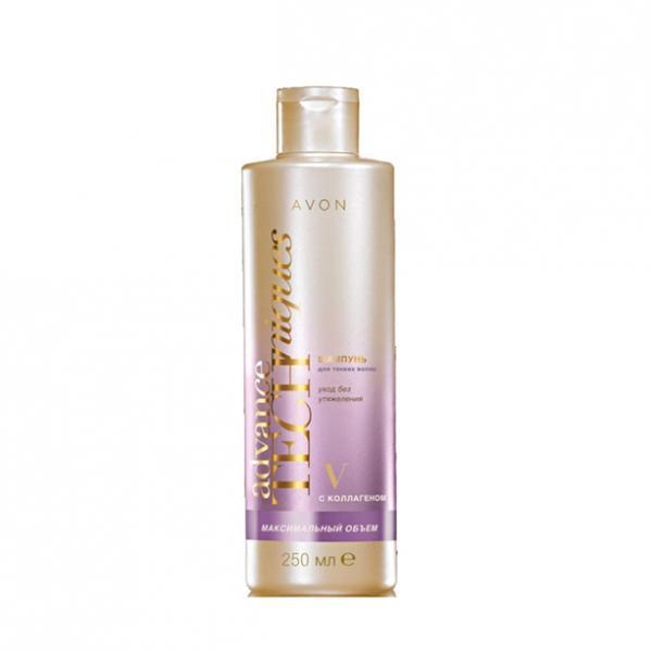 Фото для волос, шампуни и ополаскиватели Шампунь для тонких волос «Максимальный объем» (250 мл)
