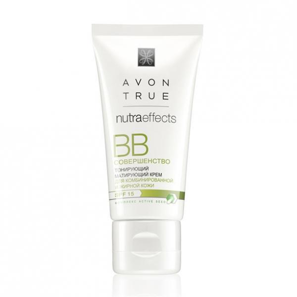 Фото макияж, лицо, bb-крем Тональный матирующий крем ВВ «Совершенство» SPF15 (30 мл)