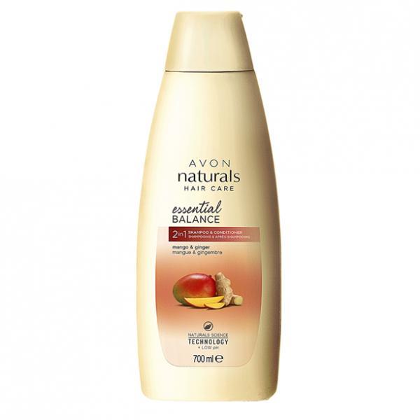 Фото для волос, шампуни и ополаскиватели Шампунь/ополаскиватель 2-в-1 «Безграничная свежесть. Имбирь и манго» (700 мл)