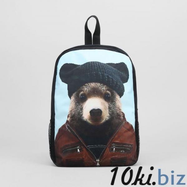 Ранец молод 2053, 27*10*38, 1 отд на молнии, 2 н/кармана, Медведь купить в Беларуси - Рюкзаки городские и спортивные
