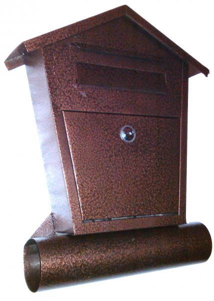 Почтовый ящик Домик с трубой