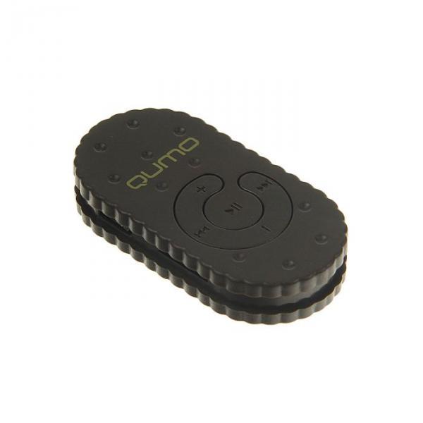 """MP3 плеер Qumo BISCUIT """"Шоколад"""", Micro SD до 32 ГБ, темно-коричневый"""