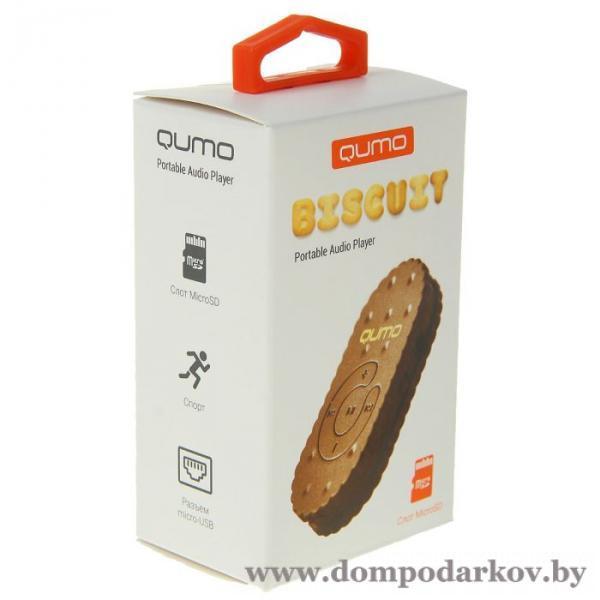 Фото Подарки на День рождения MP3 плеер Qumo BISCUIT