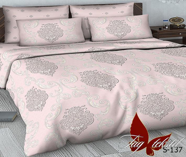 Фото ПОСТЕЛЬНОЕ БЕЛЬЕ, сатин люкс Комплект постельного белья с компаньоном S137
