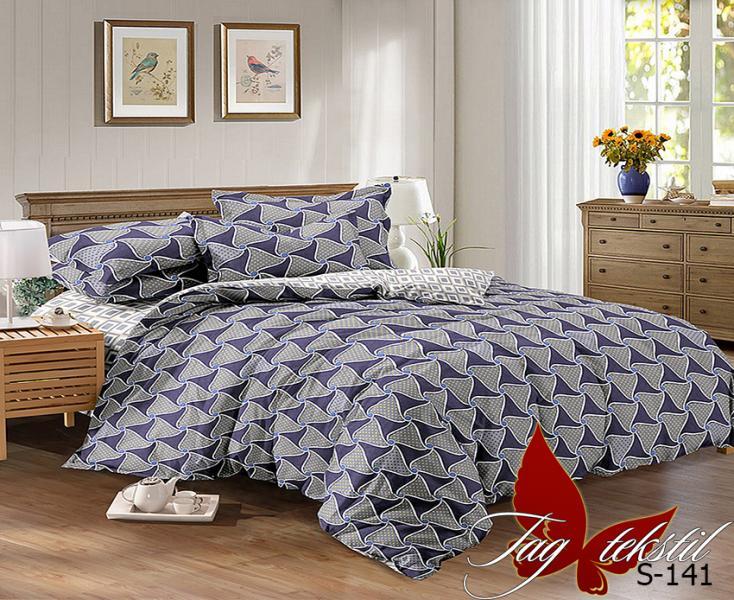 Фото ПОСТЕЛЬНОЕ БЕЛЬЕ, сатин люкс Комплект постельного белья с компаньоном S141