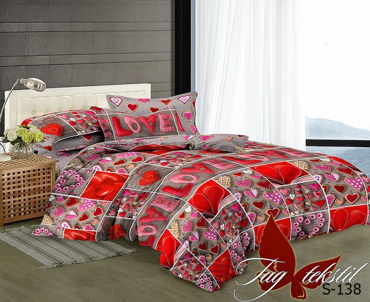 Фото ПОСТЕЛЬНОЕ БЕЛЬЕ, сатин люкс Комплект постельного белья  S-138