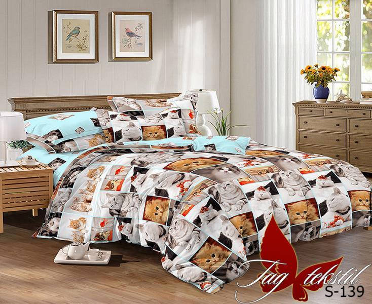 Фото ПОСТЕЛЬНОЕ БЕЛЬЕ, сатин люкс Комплект постельного белья  S-139