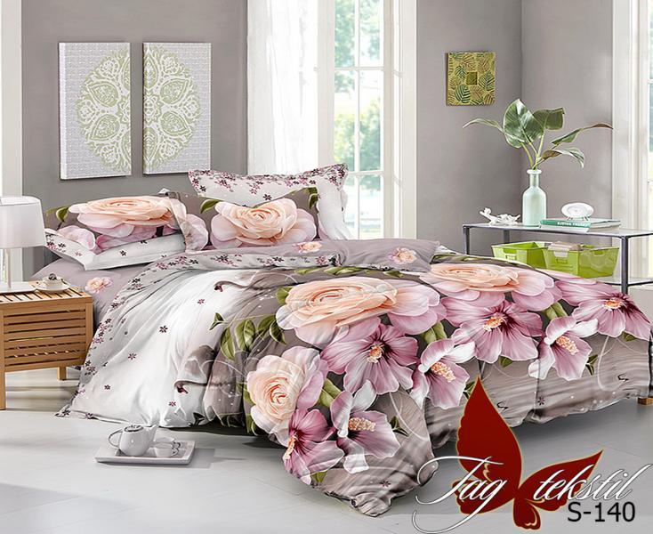 Фото ПОСТЕЛЬНОЕ БЕЛЬЕ, сатин люкс Комплект постельного белья  S-140