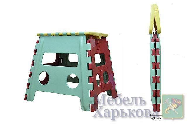 Табурет пластмассовый складной - Кухонные табуретки в Харькове