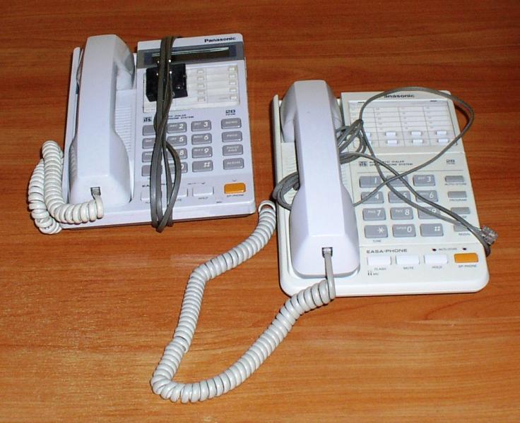 """Телефон стационарный кнопочный """"Panasonic"""" *7253 *7254"""