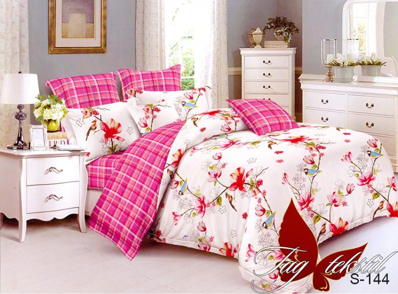 Фото ПОСТЕЛЬНОЕ БЕЛЬЕ, сатин люкс Комплект постельного белья с компаньоном S-144