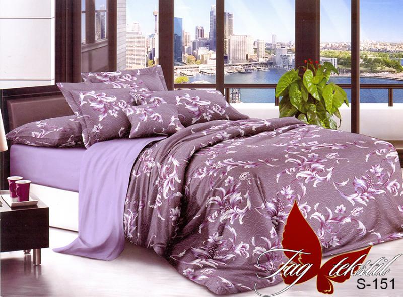 Фото ПОСТЕЛЬНОЕ БЕЛЬЕ, сатин люкс Комплект постельного белья с компаньоном S-151