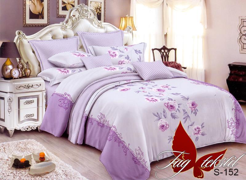 Фото ПОСТЕЛЬНОЕ БЕЛЬЕ, сатин люкс Комплект постельного белья с компаньоном S-152