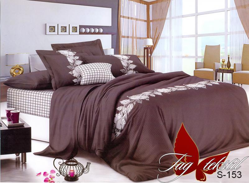 Фото ПОСТЕЛЬНОЕ БЕЛЬЕ, сатин люкс Комплект постельного белья с компаньоном S-153