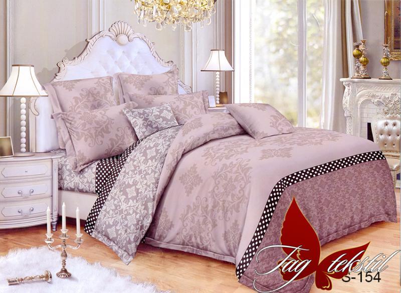 Фото ПОСТЕЛЬНОЕ БЕЛЬЕ, сатин люкс Комплект постельного белья с компаньоном S-154