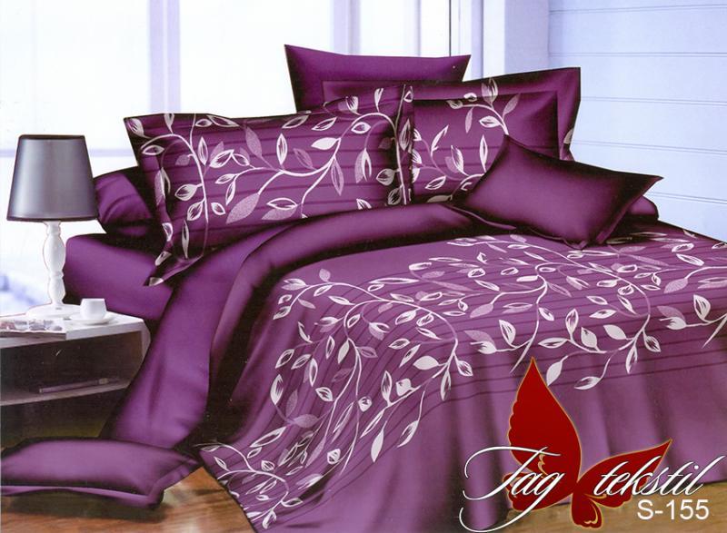 Фото ПОСТЕЛЬНОЕ БЕЛЬЕ, сатин люкс Комплект постельного белья с компаньоном S-155