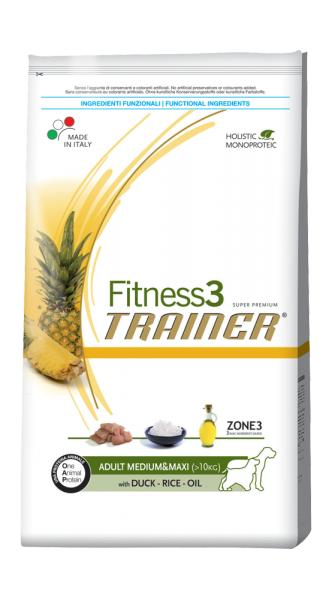 Trainer Fitness3 Adult Medium & Maxi With Duck Rice Oil