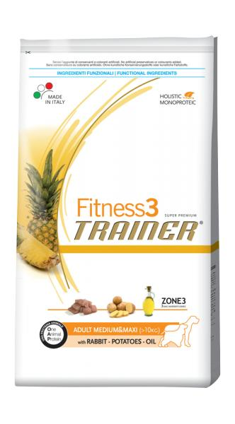 Trainer Fitness3 Adult Medium & Maxi With Rabbit Potatoes Oil