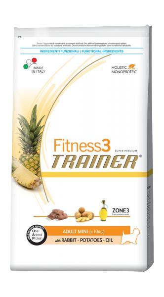Trainer Fitness3 Adult Mini With Rabbit Potatoes Oil