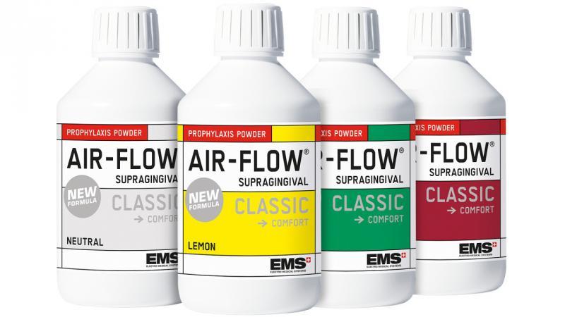Air-Flow CLASSIC COMFORT (Эйр флоу классик комфорт - Порошок профилактический ) 300гр, EMS
