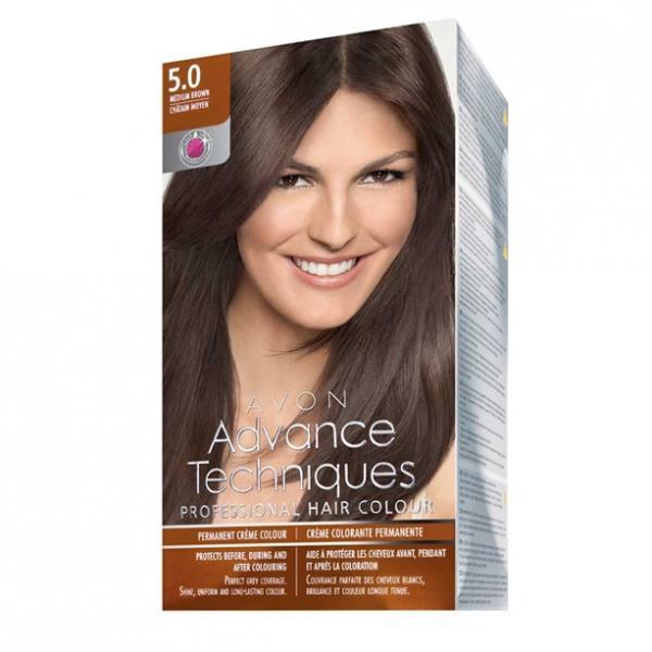 Стойкая крем-краска для волос «Салонный уход»