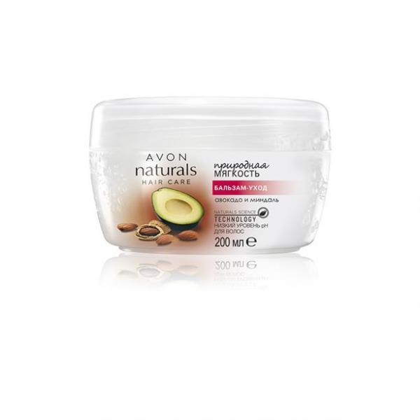 Бальзам-уход для волос «Природная мягкость. Авокадо и миндаль» (200 мл)