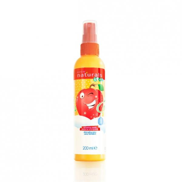 Детский спрей для облегчения расчесывания волос «Веселое яблочко», 200 мл