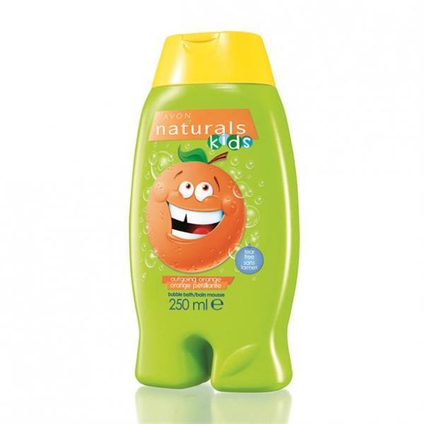 Детский гель для душа/ пена для ванны «Оранжевое настроение», 250 мл