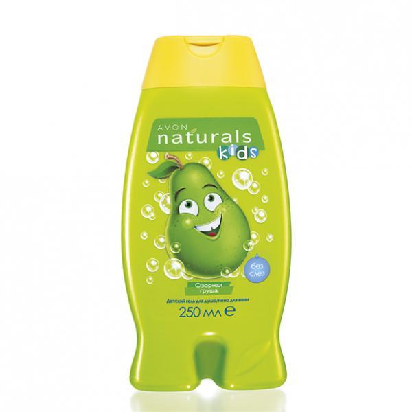 Детский гель для душа/ пена для ванны «Забавная груша», 250 мл