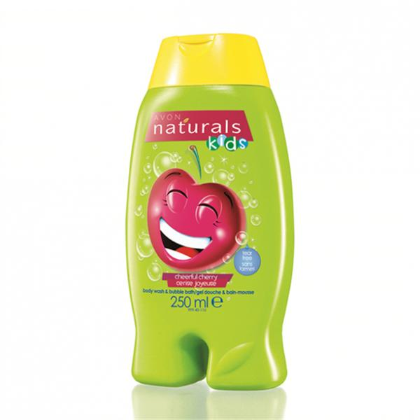 Детский гель для душа/ пена для ванны «Вишневая радость», 250 мл