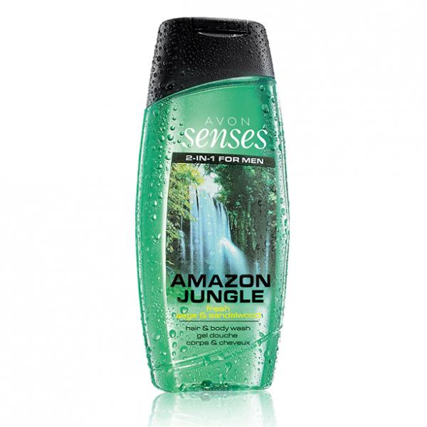 Шампунь-гель для душа для мужчин с дезодорирующим эффектом «Сила притяжения» (250 мл)