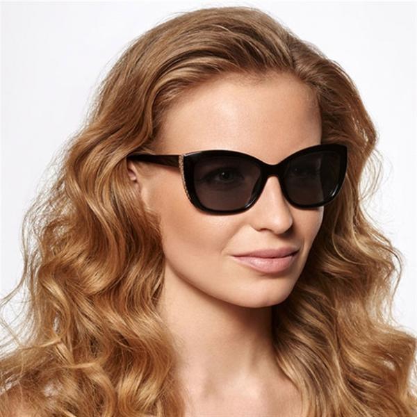 Солнцезащитные очки «Джоанна». Черные