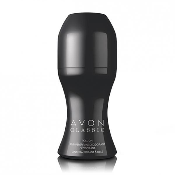 Дезодорант-антиперспирант с шариковым аппликатором Avon Classic, 50 мл