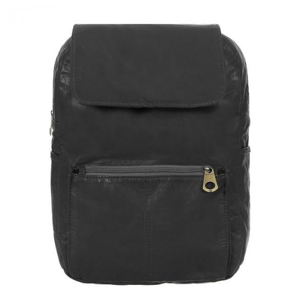 """Рюкзак молодёжный на молнии """"Элиза"""", 1 отдел, 2 наружных и 2 боковых кармана, серый"""