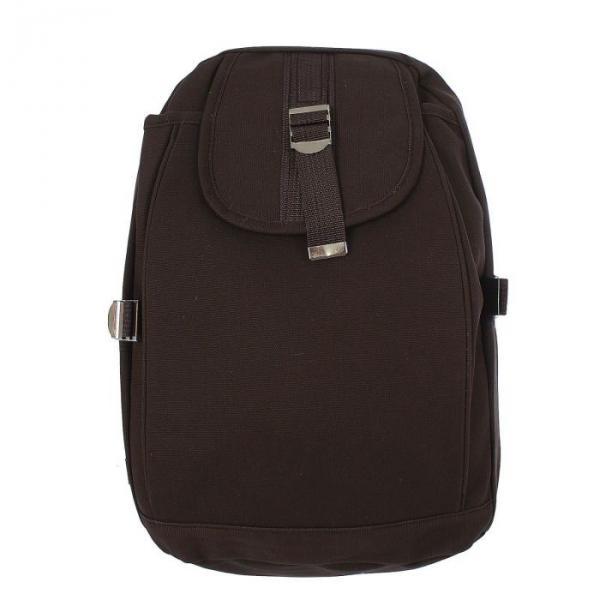 """Рюкзак молодёжный """"Однотонный"""", 1 отдел, 1 наружный карман, коричневый"""