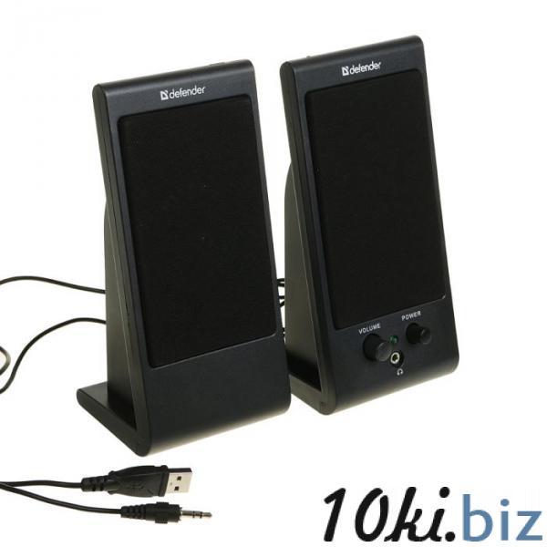 Акустическая система 2.0 DEFENDER SPK-170, 2х2Вт, USB, черные купить в Беларуси - Усилители звука, колонки