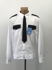 Фото  Рубашка для охранника женская, на поясе