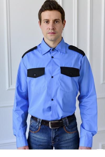 Рубашка для охранника мужская, под заправку