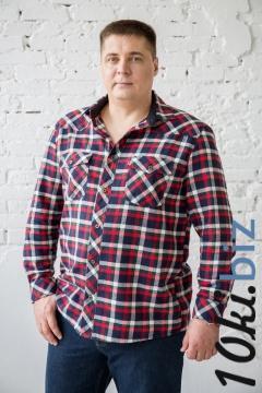 Рубашка мужская в клетку, длинный и короткий рукав Мужские рубашки в Иваново