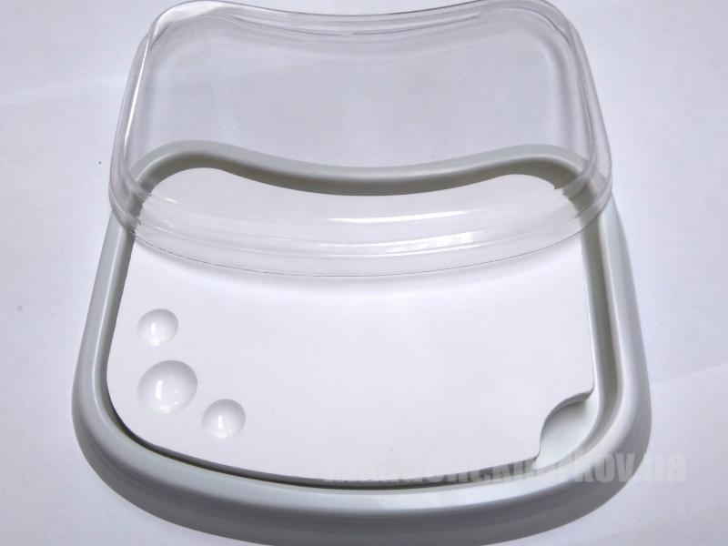 Фото Для зуботехнических лабораторий, АКСЕССУАРЫ, Инструменты Палитра для работы с керамикой овальная (маленькая)