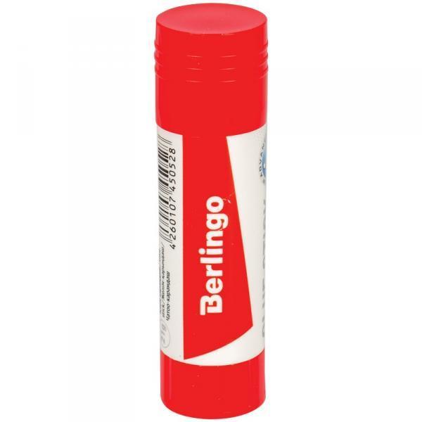 Фото Канцелярские товары (ЦЕНЫ БЕЗ НДС), Клей ПВА, клей-карандаш, клей силикатный Клей-карандаш Berlingo