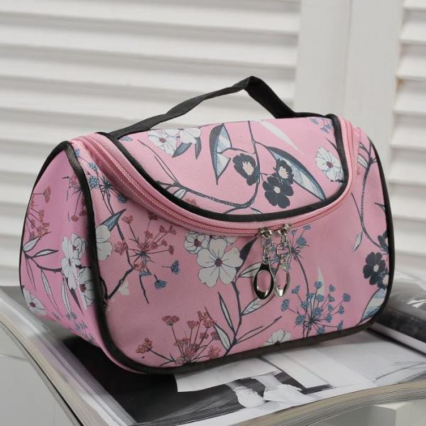 Косметичка-сумочка Капитолина, 20*10*12, отд на молнии, розовый