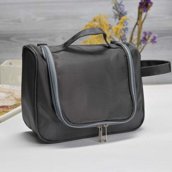 Косметичка-сумочка Ирена, 25*9,5*17, отд на молнии, серый