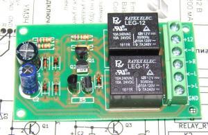 Фото Мастер КИТ. Радиолюбительские модули, Разные платы Задержка включения и защита динамиков стерео