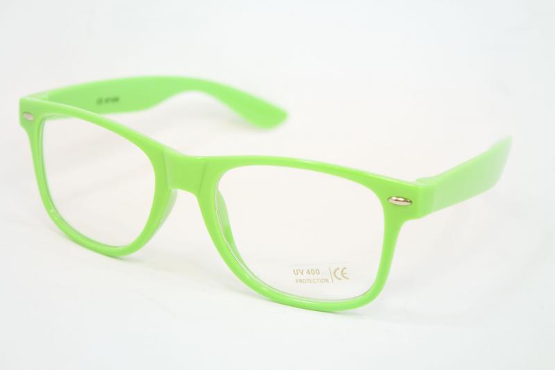 Очки для стиля зеленые (1028-14)