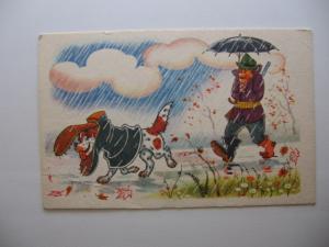Фото Почтовые открытки (карточки), открытки, Разное Осенний мотив художник А. Орлов А. Шварц 1968