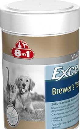 Вітаміни 8 в 1 Brewers Yeast 80 таб VITALITY